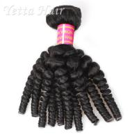 14 inch - 24 inch Indian 6A Virgin Hair Africa Curly Wet and Wavy