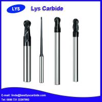 China Carbide 2 flute ball nose end mill cutter on sale
