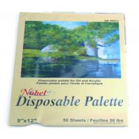 China Square Disposable Palette Acrylic Artist Paint Pad 12 X 16'' / 9 X 12' Size wholesale