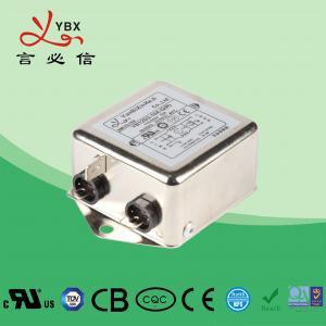 China Single Phase AC Noise Power EMI Filter 220V Durable 2000VAC Line To Ground wholesale