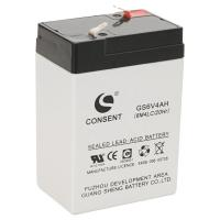 China 6v 4ah battery,6 volt 4ah rechargeable battery on sale