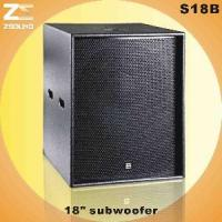 """China S18B 18"""" Large-Scale Vented Subwoofer wholesale"""