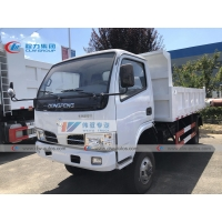 China 4X4 Full Wheel Driving 5T Dongfeng Dump Truck With Middle Tipping wholesale