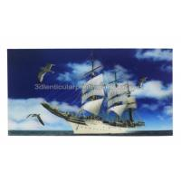 Quality PET Material 3D Lenticular Poster Large Size Landscape 3 Dimensional Pictures for sale
