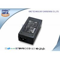 China Network Over Power Adapter 24V 1A , Desktop D Link POE Adapter wholesale