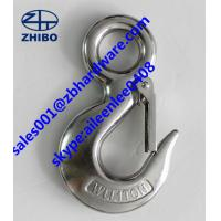China High Quality ! Lifting Hooks / Eye Slip Hook With Safety Latch wholesale