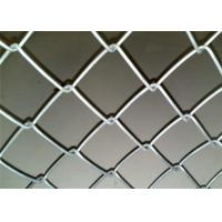 China PVC Coated Chain Link Fencing With Installing Accessories / 610g Zinc Coating wholesale