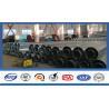 China Distribution Equipment Galvanized Electrical Power Pole Transmission Tubular Steel Pole wholesale