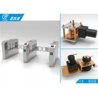 China One Way Turnstile Single Direction Swing Barrier Turnstile Card Access Control System 5000000 Cycles wholesale