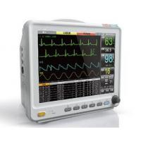 China 12.1 Inch High Resolution Color LCD Patient Monitor With 6 Standard parameters ECG, RESP, NIBP, SPO2, 2-TEMP, PR/HR wholesale