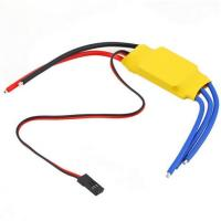 Quality 1.5A/5V BEC 30A ESC Brushless Motor Speed Controller For RC Toys Yellow for sale