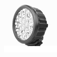 China 7 Inch Round Outdoor LED Flood Lights 8100LM High Lumen 90w Super Bright wholesale