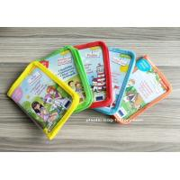 China Cute Carton Print Transparent PEVA Stationery Pouch Stationery Zipper Storage Pouch wholesale