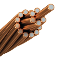 China Bare Copper Clad Aluminum Stranded Wire For Electrical Conductor wholesale