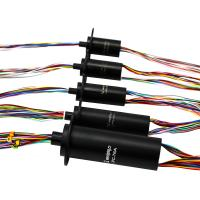 China 2A 500rpm High Speed Capsule Slip Ring Series 240 VAC/DC For Rotating Light Box wholesale