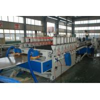 China PVC WPC Trash Box Foam Board Machine , PVC Cabinet Skinning Foam Board Extruder on sale
