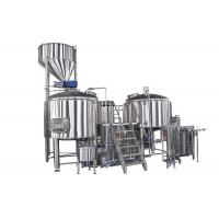 China 30BBL Large Scale Beer Brewing Equipment Automatic Control Electricity Heating on sale