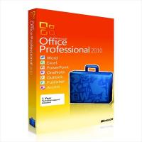 China Genuine Software  Office Professional 2010 Retail Genuine Software Product Key  suit 32 / 64 bit wholesale