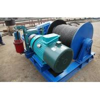 China Lightweight Wire Rope Electric Winch , Electric Winches For Lifting JKL Series wholesale