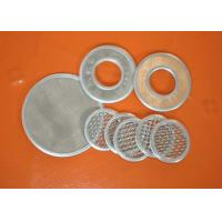 China Micron Wire Mesh Filter Screen Mesh Filter For Well Water , 304 Stainless Steel wholesale