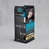 Quality E - cigarettes Acrylic Display Stands More compartments Printing Full Color Logo for sale
