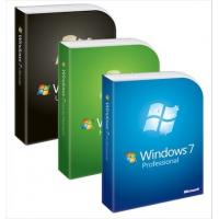 China Professional Win 7 Home Premium Product Key , Windows 7 Upgrade Key Retail Box wholesale