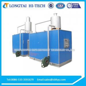 China 2.4 tons per day recuperative ceramic frit furnace wholesale