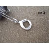 Quality 2012 Hot Selling Fashion Jewelry 925 Sterling Silver Gemstone Pendant with Zircon W-VB859 for sale