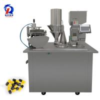 China Semi Automatic Capsule Filling Machine With Capsule Sowing Protection Device wholesale