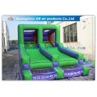 China Double Channel Inflatable Sports Games Ball Goal Court With CE Approved Blower wholesale