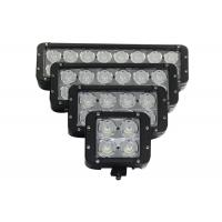 China Dual Row High Power Vehicle LED Light Bar 8LED Work Light For Marine / Jeep / Offroad wholesale