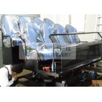 China Exciting Amazing 5D Simulator With Six Degrees Of Freedom Motion Chairs wholesale