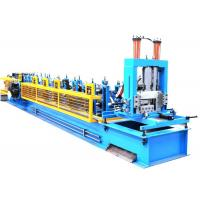 China Manual Exchangeable CZ Purlin Roll Forming Machine High  Cutting Accuracy wholesale
