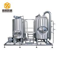China 300L Micro Beer Brewing Equipment , SS 316 Manual Control Beer Making Equipment wholesale