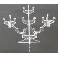 China CH (52) Square acrylic candle holder wholesale