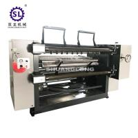 China PVC and PET Window Film Slitter with Automatic Tension , Paper Slitting Machine wholesale