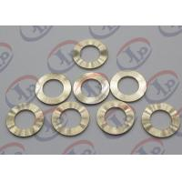 China Precision CNC Machining Services , Brass Flat Washers with Ra 1.6 Roughness wholesale