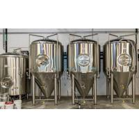 China Cooling Conical Fermenter, Home Brewing, Beer Fermentation Tank 50L--10000L Conical Stainless Steel Fermentation Tank wholesale