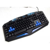 Quality Entry Level Comfortable Multimedia Computer Gaming Keyboard Light Up for sale