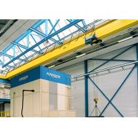 China Single Girder Travelling Overhead Crane With Monorail Electric Hoist FEM / DIN Standard wholesale