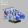 Buy cheap 6 Seats VR Motion Simulator Virtual Reality Cinema Entertainment Simulation from wholesalers