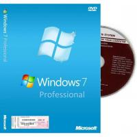 China Microsoft Windows 7 Pro Coa Sticker , Windows 7 Upgrade Product Key Full Package wholesale