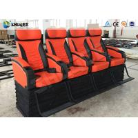 China Latest Design 4D Cinema System Simulator Ride Chair 4D Outdoor Kino wholesale