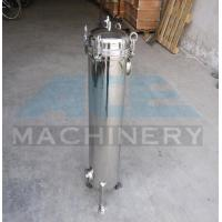 China Stainless Steel Multiple Bag Cartridge Filter For Ultra Purification Bags Water Filter Machine wholesale
