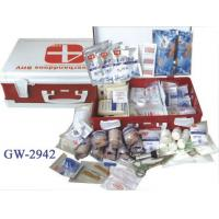 China Plastic box first aids kits for travel , home , car / First Aid  Box wholesale