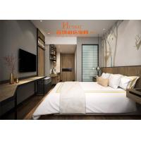 Buy cheap Simple Modern Hotel Apartment Rooms Furniture Bedroom Set With Kitchen from wholesalers
