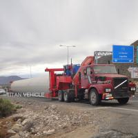 China Wind Tower Trailer for hauling wind tower on sale