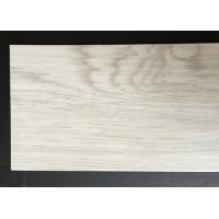 China anti-bacterial wood grain uv coating embossed PVC vinyl flooring planks wholesale