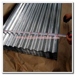 China Corrugated Profile Roof Sheet SGCC SGCH Galvanised Iron Corrugation Roofing Sheet wholesale