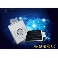 China 8 Watt Automatic Solar Street Light Lithium Battery 12V 6AH Phone App Control wholesale
